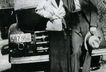 Bonnie & Clyde moodboard