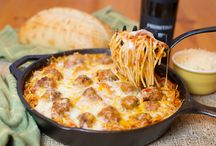 meatballs and spagetti
