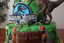 Jurastic world birthday decorations