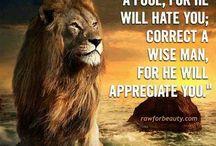 lion sayings.