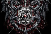 Heráldica, sellos, emblemas