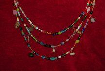 Viking cascade necklace