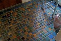 Salvaged Tile ideas