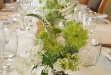 Parties at The Leconfield Restaurant / Having a dinner party and need some flowers to decorate the tables and venue.  Weddings, Anniversaries, Birthdays & Special Occasions.
