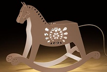 Lighting / Add some fairytale touch to your interiors with this absolutely adorable and unique lamp. They say every child should have one rocking horse. Did you? Now is your chance to own one. An increased popularity in a folk aesthetic was an inspiration to design this lovely piece. Ideal for children's bedroom, but equally liked by adults.