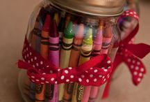 Fill a jar ideas / Fun ideas to fill your jars with!