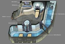 Sci Fi - Layouts / Various concepts of Sci Fi layouts.