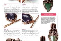 gemstones ~ wire wrap