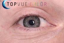 Jak vypadají barevné kontaktní čočky TopVue na očích