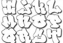 letras graffitis