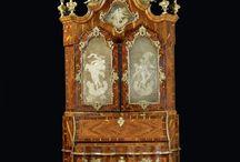 Baroque and rococo furniture