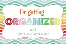 Organize it! / by Michelle Taylor