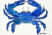 Crustaceans / Crabs and lobsters, oh my! / by Manic Trout