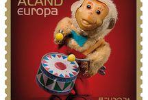 """EUROPA stamps 2015 / Выпуск марок по программе Европа 2015 года, тема: """"Старые игрушки"""""""