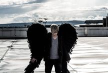 PIRO shooting BLACK ANGEL / Shooting in Frankfurt :)