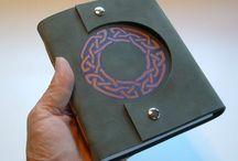 Handmade books & binding / Lots of wonderful handmade books with many different materials and bindings.