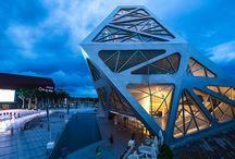 Architecture of Irregular Shapes