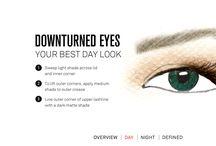 Downturned Eye Make up   https://aestheticgeek.com/ / Make up for downturned eyes  Pinterest: aestheticgeek or contactgeek  https://aestheticgeek.com/