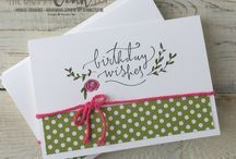 Stampin up Happiest of Days stamp set
