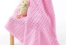 Haken, dekens/babydekentjes