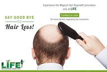 Hair Treatment / If you are looking for a natural cure for hair regrowth, Life's Slimming & Cosmetic Clinic in Hyderabad is a natural destination.