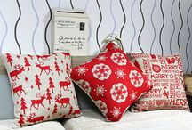 Christmas Cushion Contest Inspiration / Our Design a Christmas Cushion Competition is now open! Create a festive inspired design for our handmade cushion and win yourself some rather wonderful prizes.