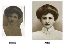 Photo Restoration / Through our partnership with ABC Photo, we can repair and restore your aged and damaged pictures and bring your memories back to life with our photo restoration service! Your satisfaction is guaranteed.