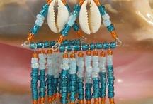 Earrings homemade - Oorbellen