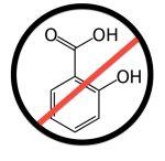 Salicylsäure frei