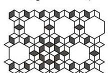 patchwork hexagon itp
