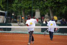 Roland-Garros dans la ville 2014 / Roland-Garros dans la ville s'est déplacé cette année sur le Champ-de-Mars.  ©FFT