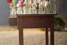 Flores engarrafadas
