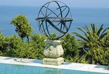 Garden and outdoor sculptures and features. / Sculptures, accessories and feature pieces to complete your garden and outdoor living areas.