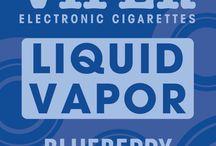 Liquid Vapor / E-Liquid For E-Cigs / by Viper Electronic Cigarettes