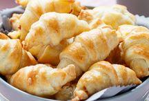 schinken käse crossants