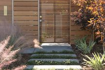 Midcentury fencing and gates