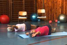 Cvičení - záda - zdravotní