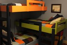 Emeletes ágy 3 gyereknek