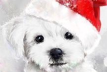 новогодние щенята