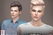 man hair - the sims 4