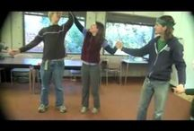 Energizers - warming up - circle games