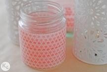 tape jars