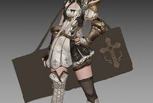 Game Character Female