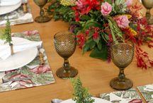 Receber + Mesas decoradas