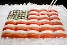Holiday Sushi / Creative sushi and sashimi themed especially for holidays!