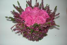ART FLORAL / Compositions de fleurs fraiches