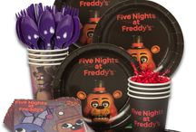 FNaF birthday party ideas