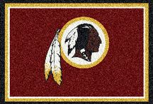 NFL Team Spirit Rugs / Adorn your home with your favorite NFL Team Spirit Rugs!  I think I need one in every size for every space.  By the way, you can even get this in wall to wall carpeting.  Now THAT team spirit!  Go Team!