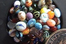 Marbles - just marbles. Look at Beading for the garden for ideas to use them. / by Vicki Williams