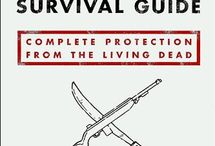 Zombie Survival Checklist / An inventory of what you need on hand to survive a zombie apocalypse!  / by Tara Dragon